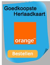 Goedkoopste herlaadkaart van Belgë