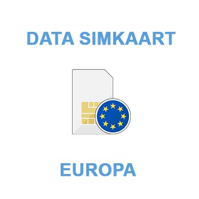 data-simkaart-data-only-europa
