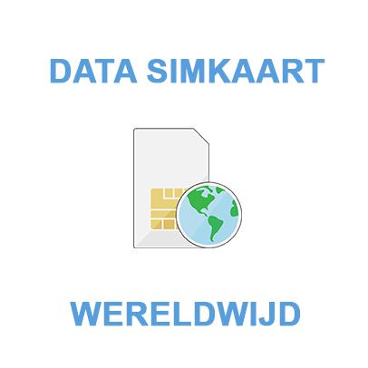 Data simkaart - Data only Wereldwijd