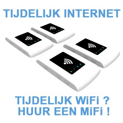 Tijdelijk internet - mifi huren